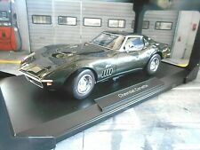 CHEVROLET Corvette C3 Singray MK3 1969 Coupe V8 green grün met RAR Norev 1:18