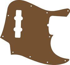 Pickguard Pick Guard Scratchplate Fender Jazz J Bass Guitar Brown Acrylic New