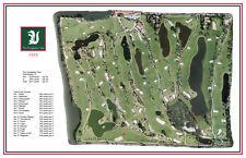 The Everglades Club - 1919/ Seth Raynor - Vintage Golf Course Maps