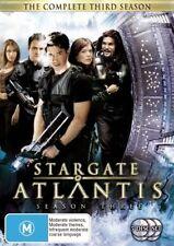 STARGATE ATLANTIS : SEASON 3 : NEW DVD R4