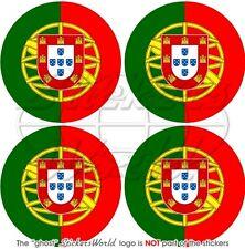 """PORTUGAL Portuguese Bumper-Helmet Stickers-Decals 50mm(2"""") x4"""