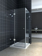 10mm Glass Shower Screen 900x900x1950mm
