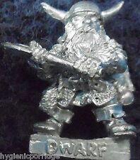 1985 BDD01 Dwarf Dungeon Adventurer Dungeons & Dragons Citadel TSR AD&D Norse GW