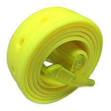 Unisex Fashion Men Women Candy Colours Belt Silicone Plastic Belts 8 Colours