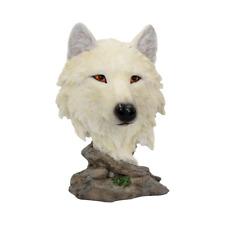 More details for snow searcher 16cm wolf figurine art ornament sculpture