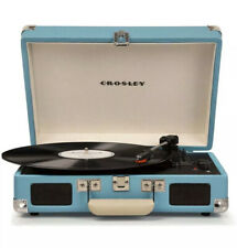 """New listing Crosley Cruiser Deluxe Portable Turntable Record Player """"Speaker Low Volume�"""
