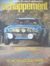 75 RALLYE TOUR DE CORSE R5 COUPE GORDINI COOPER TROPHéE J. TODT ECHAPPEMENT 1975