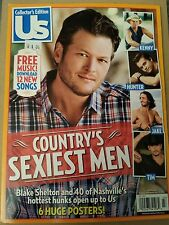 Collector's Edition US Country's Sexiest Men Chesney Shelton 2014 FREE SHIPPING