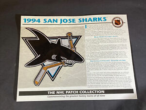 Willabee & Ward NHL Official Patch 1994 San Jose Sharks