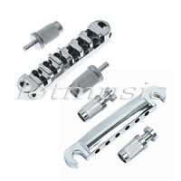 One set Roller Style Locking Guitar Tune-O-Matic Bridge and Tailpiece Zinc Alloy