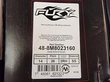 48-8M8023160 Mercury Fury Outboard Propeller 14 X 26