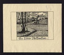 20)Nr.078- EXLIBRIS- Eugen Lud. Hoess