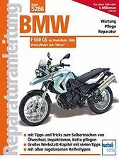 Manuales de reparación BMW F 650 GS del modelo del año 2008