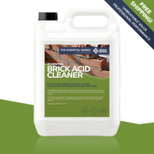 Stonecare4u Brick Acid Cleaner 5L Professional Fast Cleaning of Wall and Masonry
