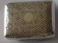 More details for fine william iv silver vinaigrette birmingham 1832 thomas shaw -10 grams