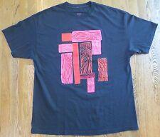 Very Rare Maya Hayuk Wood Block Print 2Xl Skate T-Shirt from Manik Skateboards
