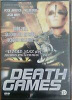Death Games  (DVD - Nuovo sigillato) - EP Enrico Pinocci
