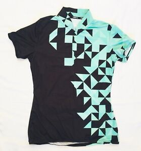 TRAYL Cycling Jersey, Short Sleeves, Women's Small, Geometric