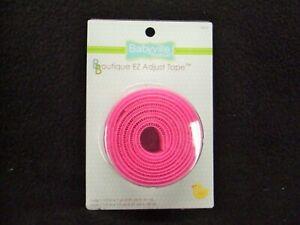 Babyville Boutique Pink EZ Adjust Tape ~ #35074 ~ Make Hook & Loop Easy Closures