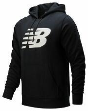 New Balance Men's Core Fleece Hoodie Black