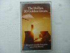 """THE HOLLIES  """" 20 GOLDEN GREATS """"  CASSETTE"""