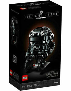Brand New LEGO STAR WARS TIE Fighter Pilot Helmet 75274 BNISB in Stock AU