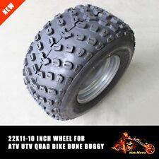 22x11-10 Inch  Wheel Knobby Tire/Tyre  ATV 300/400/450cc Quad Bike Buggy Mower