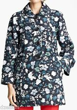 NWT $1480 Marc Jacobs Silk Floral Print Trench Coat Size 6