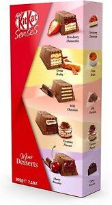 2 x Box of Nestle KIT KAT Senses Mini Desserts Chocolate Box (202g)