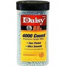 Daisy .177 Caliber ~ 4000 Count ~ BB Bottle 4.5mm Hunting Rifle Pointed Air Gun
