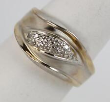14 Carat Yellow Gold SI1 Fine Diamond Rings