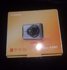NEW Canon PowerShot A490 10.0MP Digital Camera 3.3x Optical Zoom&2.5Inch lcd
