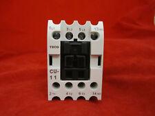 TECO CU-11-110V Magnetic Contactor 3A1A 50/60 Hz