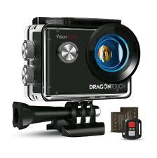Caméra Sport 4K Ultra HD Wi-FI Go pro Dragon Touch Action 20 MP avec accessoires