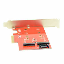 M.2 NGFF 4 Lane SSD to PCI-E 3.0 x4 & NGFF to SATA Adapter for XP941 SM951 A110