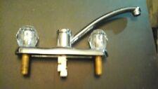 Moen chrome kitchen faucet sink  Chrome dual handle great condition