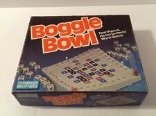 Vintage Boggle Bowl Word Game by Parker Brothers - 1987 Edition - 100% Complete!