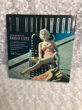 3-D Hollywood Photographs Harold Lloyd 1992 HB Marilyn Monroe Coffee Table Book