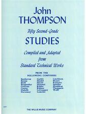John Thompson è un moderno corso per Pianoforte Cinquanta seconda elementare LIBRO STUDI DI MUSICA