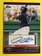 Jay Austin 2010 Topps Pro Debut #PDA-JA  auto signed autograph