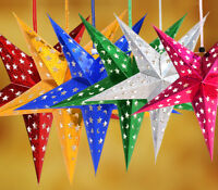 Wholesale Xmas String Hanging Star Party Decoration Christmas Tree Ornament