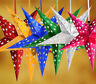 Xmas String Hanging Star Party Decoration Paper Christmas Tree Ornament