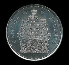 2014 CANADA 50 CENTS  Half Dollar COIN Uncirculated from roll