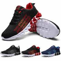 Men's Athletic Sneakers Fashion Running Jogging Tennis Casual Walking Shoes Gym