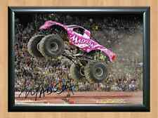 Debrah Miceli Madusa Monster Jam Truck Signed Autographed A4 Print Photo Poster