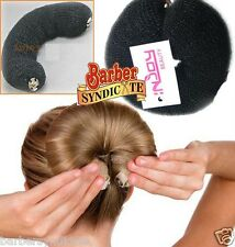 2 PCS Button hairdressing women high quality Messy Bun Updo Hair Donuts hd007