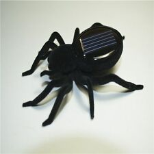 Hot Solar Power Educational Robot Scary Insect Gadget Spider Tarantula Trick Toy