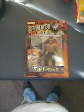 1999 Jakks Pacific WWF The Rock with Folding Chair Summer Slam 99 Fully Loaded 2