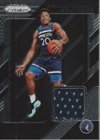 2018-19 Panini Prizm Sensational Swatches #81 Josh Okogie - NM-MT
