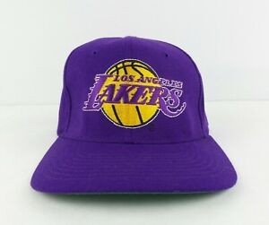 Vintage Starter NBA Los Angeles Lakers Hat Cap Size 6 5/8 -7 1/8